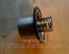 The thermostat without case (80 °C) WD615 HOWO VG1500061202 #запчасти HOWO