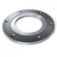 Forged flat flange 15 1- 6, GOST 12820-80. Diameter 15 mm, weight 0.33 kg, steel 10X17H13M2T
