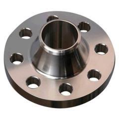 Кованый воротниковый фланец 1- 80- 16, ГОСТ 12821-80. Диаметр 80 мм, вес 4,21 кг, сталь X6CrNiTi 18-10
