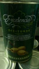 Оливки без косточки 2,0/4,15 кг ж/б