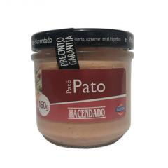 Paste with a duck of Pate Hacendado 160 of