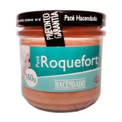Paste with Pate Hacendado 160 roquefort...