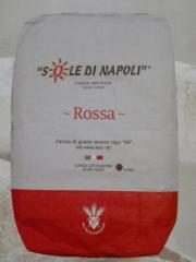 Мука Sole Di Napoli Rossa 25кг (Мука Соле Ди Наполе Красный)