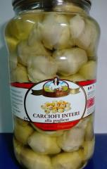 Artichokes whole in oil 2,9kg