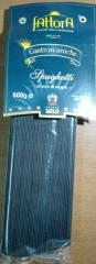 Спагетти с чернилами каракатицы ТМ Фоттора 0,5кг