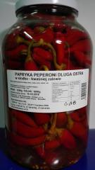 Перец пеперони острый 1,3/3,3 кг