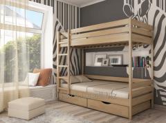 Кровать Дуэт двухъярусная. Бесплатная доставка