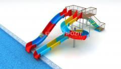 Waterslide of Ukrkompozit of Bora Bora of...