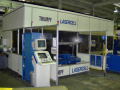 The laser machine for cutting of sheet metal