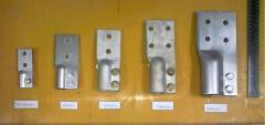 Clips contact | Clips to power transformers of