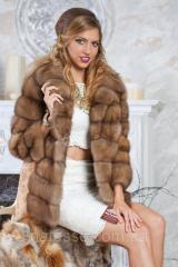 Semi-casacos de pele