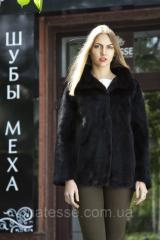 "Шуба из норки ""Шарлотта"" Real mink fur coats jackets"