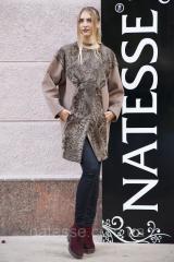 Пальто из каракульчи с отделкой из кашемира swakara broadtail jacket coat