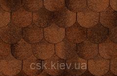 Битумная черепица Ruflex Ornami Красная глина