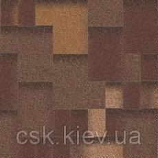Битумная черепица Акцент Горячий шоколад