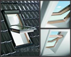 Окно Roto R45 11/11 из дерева