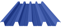 Профнастил ПК45 Zinc 0,65