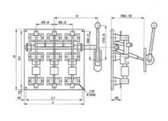 Production electrotechnical low-voltage in wide
