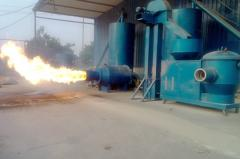 Предтопок для сжигания древесной пыли с бункером HQ-W/ 1.0T - 698 кВт