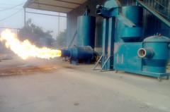 Предтопок для сжигания древесной пыли с бункером HQ-W/ 10T - 6978 кВт