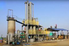 Установка газифицирующая на биомассе HQ-LX 2000/900-1200 м³