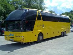 Автобусне верхнє лобове скло до Neoplan ( Неоплан ) 516