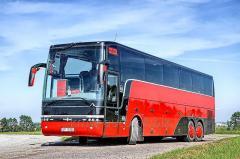 Автобусне лобове скло до Van Hool: Altano, Astromega, Astron, Acron, Alicron, T915, T815