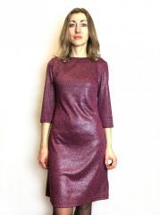 Коктейльное платье с отливом П214