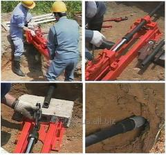 Installation of a puncture of USP-M soil