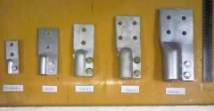 Зажимы контактные с плоскими выводами к