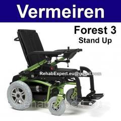 Коляска повышенной проходимости с функцией вертикализации Vermeiren Forest 3 Stand Up Power