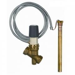 Клапан TSK с выносным датчиком температуры для защиты твердотопливных котлов от перегрева 42370