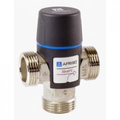 "Tермостатический клапан AFRISO ATM361 G 1"" 20-43°С kvs 1,6 1236100"