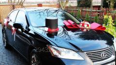 Комплект украшения машины на свадьбу №10