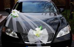Комплект украшения машины на свадьбу №7