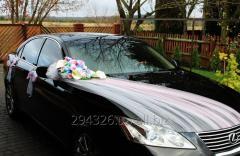 Комплект украшения машины на свадьбу №6