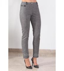 Женские брюки с шерстью  BLEU D'AZUR