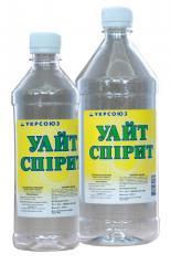White spirit (Nefras), the price is over 1 l.