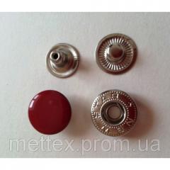 Кнопка №54-12,5 мм эмаль (№ 148) красная