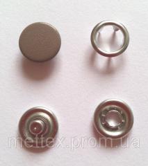 Кнопка 9,5 мм матовая № 9