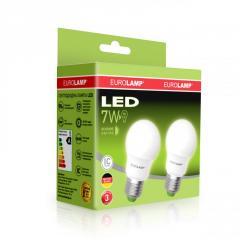 Промо-набор Eurolamp LED A50 7W E27 4000K