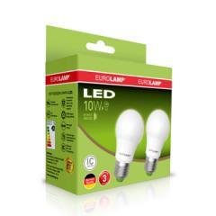 Промо-набор Eurolamp LED A60 10W E27 3000K