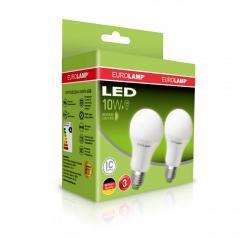 Промо-набор Eurolamp LED A60 10W E27 4000K