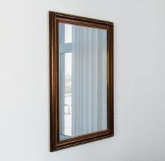 Mirror in a baguette, mirrors wall, mirrors for a bathroom, a hall 7036-82 (1)