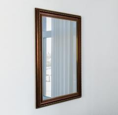 Mirror in a baguette, mirrors wall, mirrors for a bathroom, a hall 7036-130 (1)