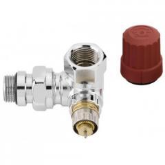 Клапан термостатический угловой, левый, хром серии RA-NCX 013G4240