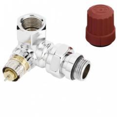 Клапан термостатический угловой, хром серии RA-NCX 013G4237