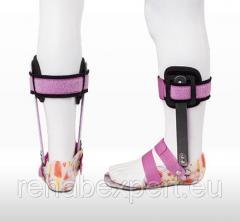 Детский Ортопедический Апарат на голеностоп  и сандалем ERH 71Ortho Ankle Brace AFO/DAFO