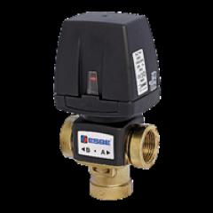 3-ходовой переключающий клапан AFRISO VZС162 G 1; 20 DN; 6.0 Kvs; съемный кабель 43060800