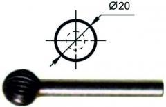 Борфрезы сферические (D), нормальной точности